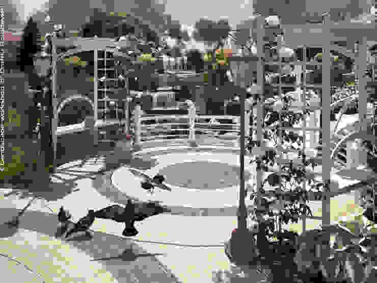 Мастерская ландшафта Дмитрия Бородавкина Mediterranean style garden White