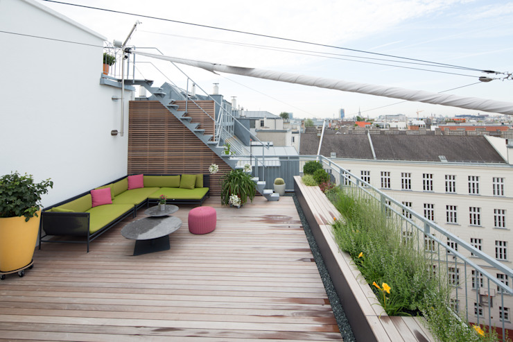 Terrazas de estilo  por BEGRÜNDER , Moderno