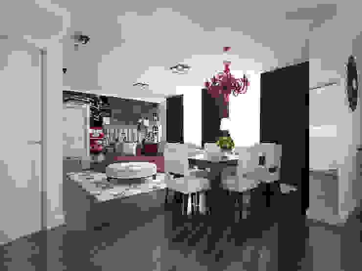 Лондон в Казани Гостиные в эклектичном стиле от Decor&Design Эклектичный