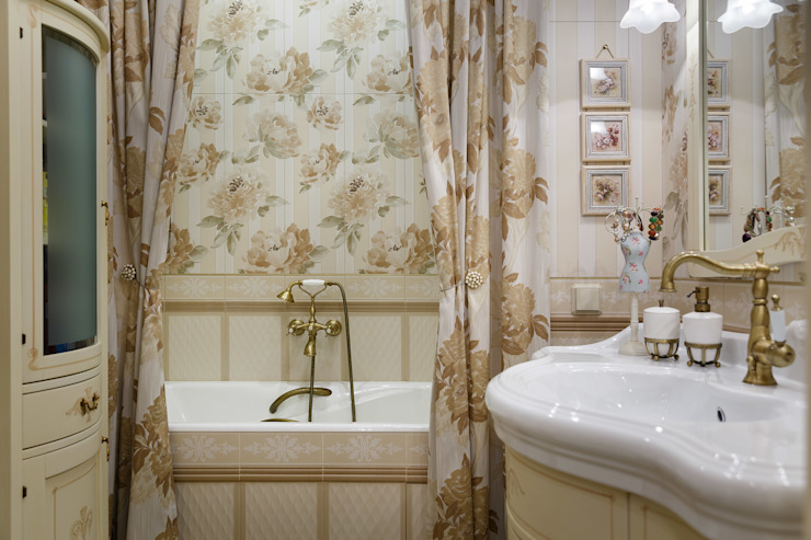 квартира на ВО, Галерный проезд д.5. Ванная в классическом стиле от Valeria Ganina Классический