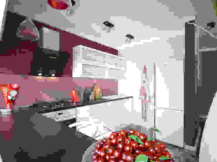 Лондон в Казани Кухни в эклектичном стиле от Decor&Design Эклектичный