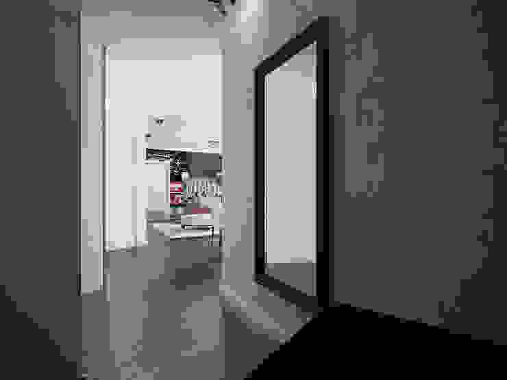 Лондон в Казани Коридор, прихожая и лестница в эклектичном стиле от Decor&Design Эклектичный