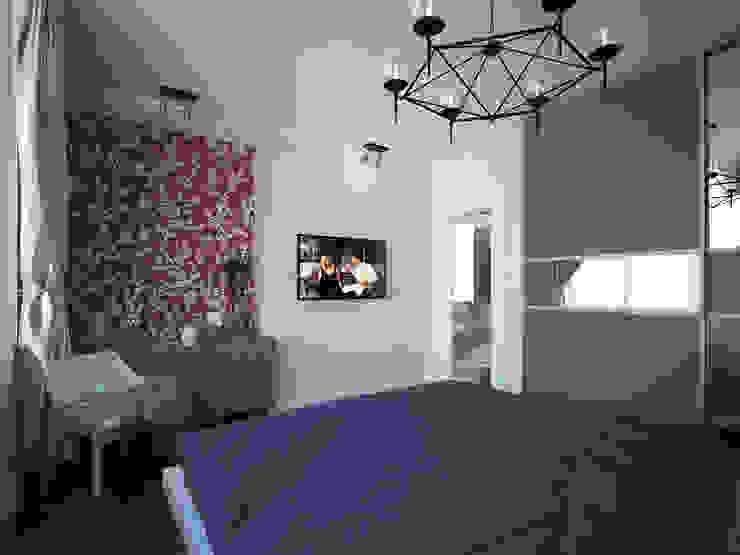 Лондон в Казани Спальня в эклектичном стиле от Decor&Design Эклектичный