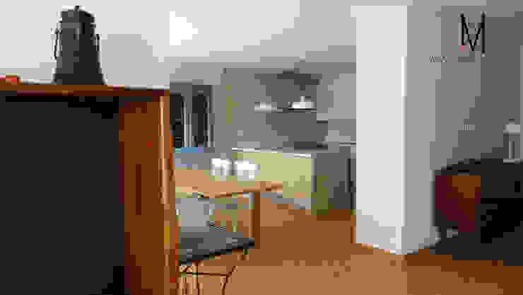 Ericeira Surf Cozinhas campestres por ARQAMA - Arquitetura e Design Lda Campestre