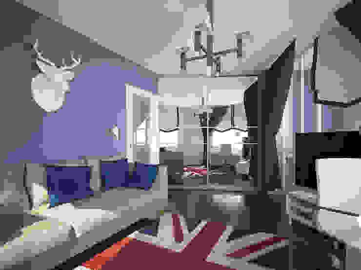 Лондон в Казани Медиа комнаты в эклектичном стиле от Decor&Design Эклектичный