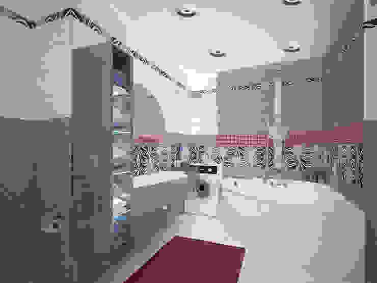 Лондон в Казани Ванная комната в эклектичном стиле от Decor&Design Эклектичный