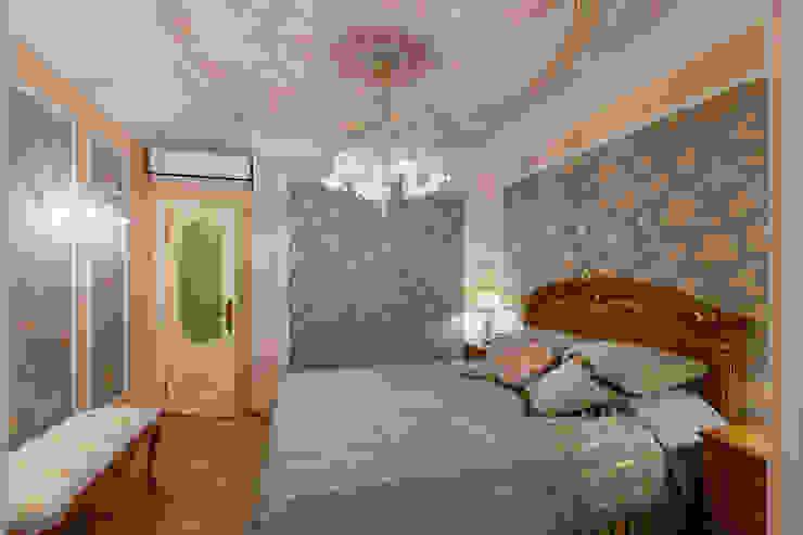 квартира на ВО, Галерный проезд д.5. Спальня в классическом стиле от Valeria Ganina Классический