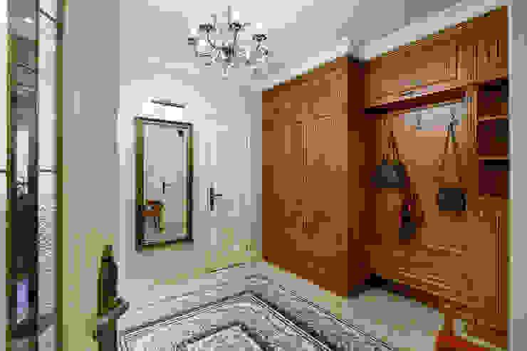 квартира на ВО, Галерный проезд д.5. Коридор, прихожая и лестница в классическом стиле от Valeria Ganina Классический