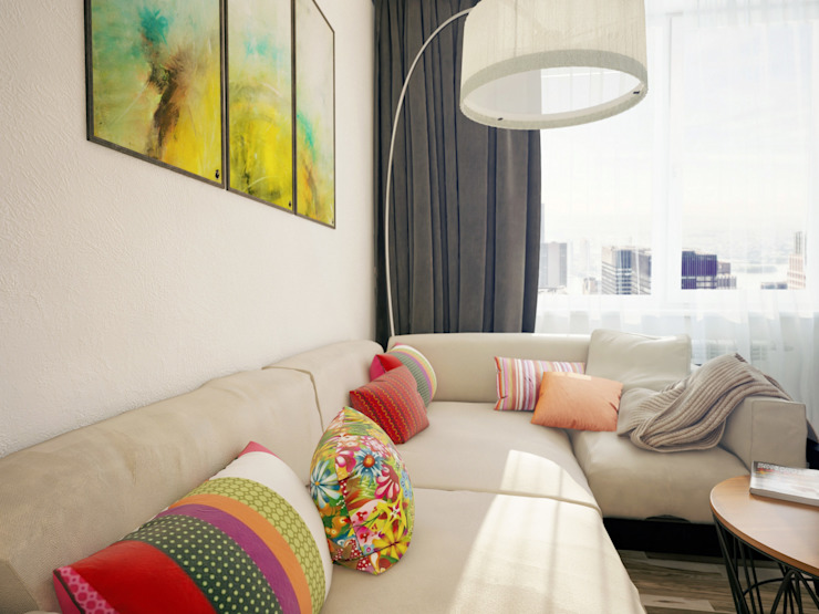 Living room by Катков Сергей , Industrial