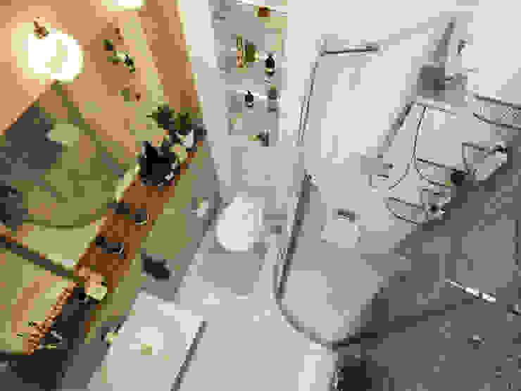Проект частной квартиры Ванная в стиле лофт от Катков Сергей Лофт