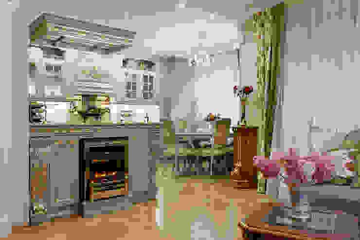 квартира на ВО, Галерный проезд д.5. Гостиная в классическом стиле от Valeria Ganina Классический