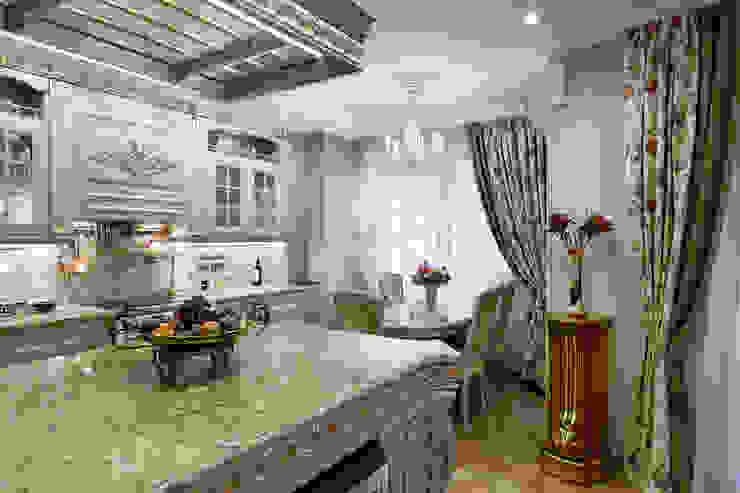 квартира на ВО, Галерный проезд д.5. Кухня в классическом стиле от Valeria Ganina Классический