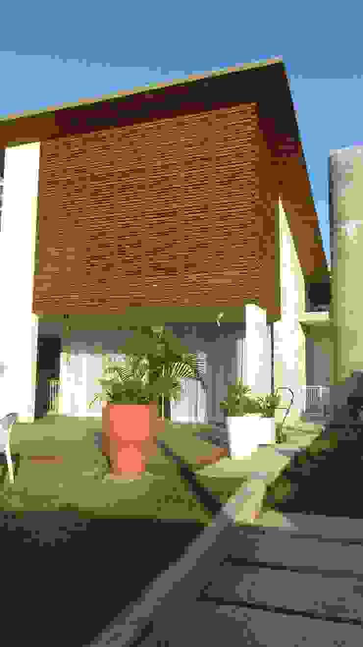 CASA ECOLÓGICA III Casas rústicas por alexis vinícius arquitetura e design Rústico