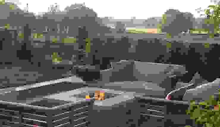 The Croft Jardines de estilo moderno de Bestall & Co Landscape Design Ltd Moderno