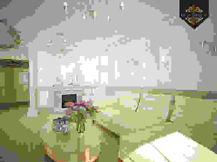 романтичная классика Гостиная в классическом стиле от Decor&Design Классический