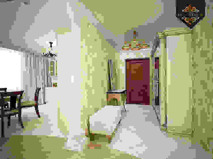 романтичная классика Коридор, прихожая и лестница в классическом стиле от Decor&Design Классический