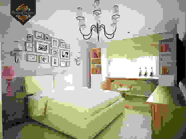 романтичная классика Спальня в классическом стиле от Decor&Design Классический