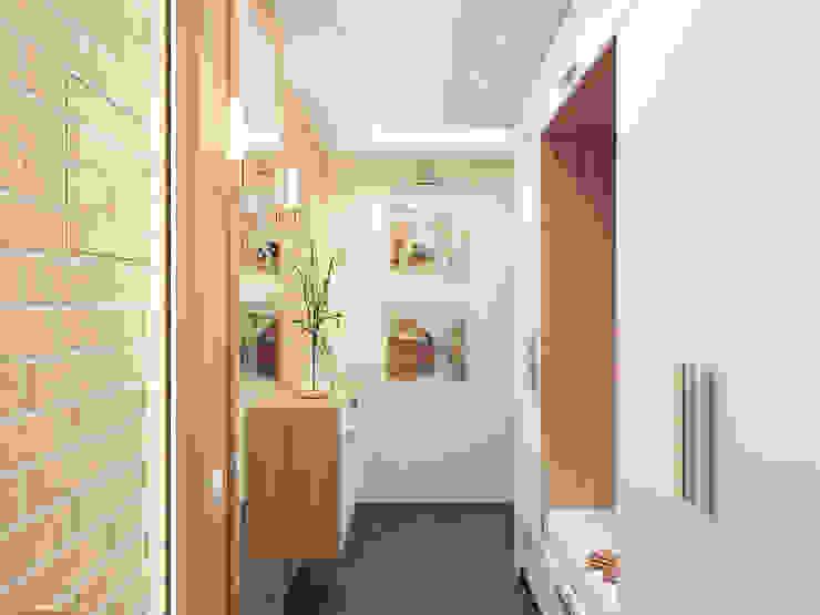 Corridor, hallway by Катков Сергей , Minimalist