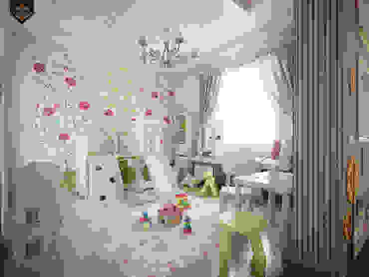 детская для девочки Детская комнатa в классическом стиле от Decor&Design Классический