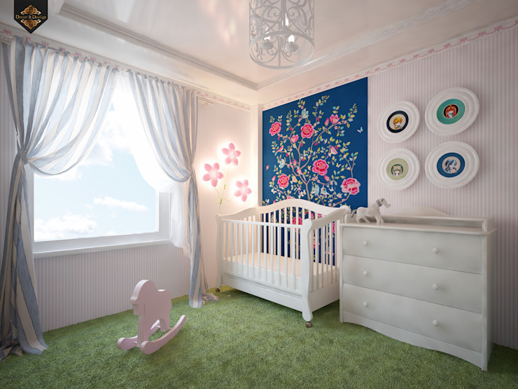 Classic style nursery/kids room by Decor&Design Classic