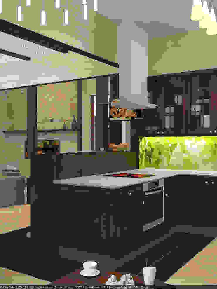 Дизайн проект дома из клееного бруса от Миродом Рустикальный