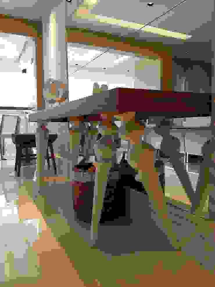 Detalhes living. Salas de estar modernas por Lucio Nocito Arquitetura e Design de Interiores Moderno