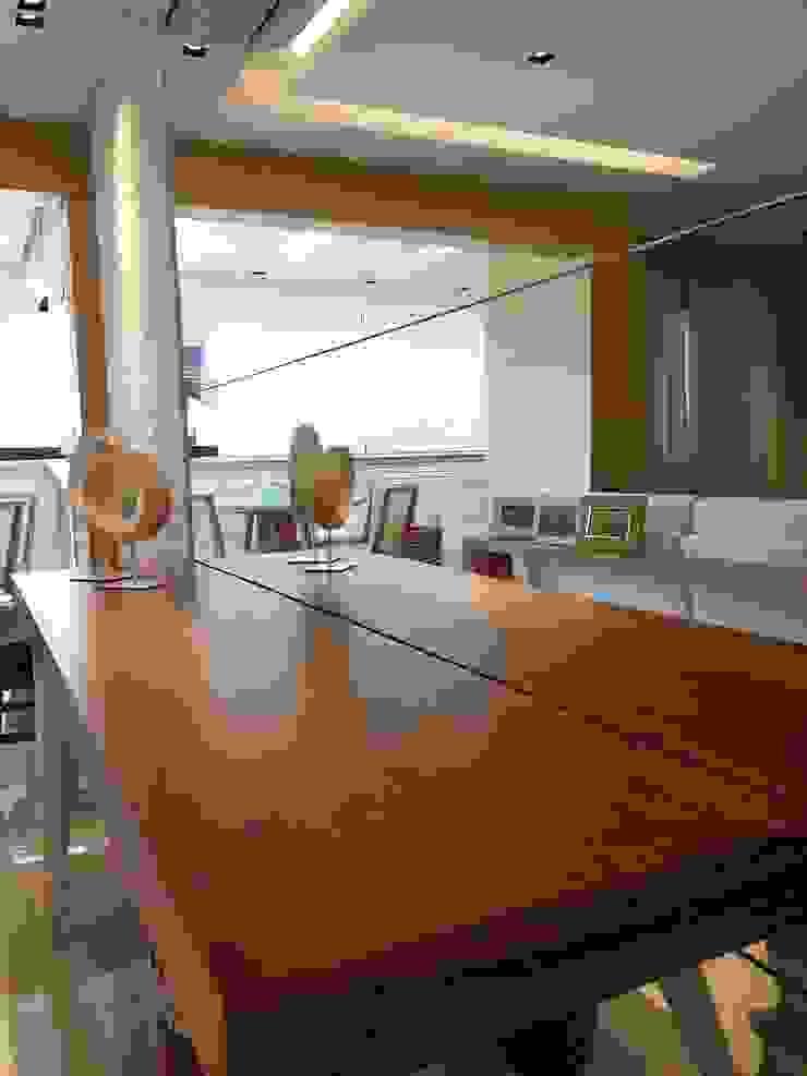 Detalhes living. por Lucio Nocito Arquitetura e Design de Interiores Moderno