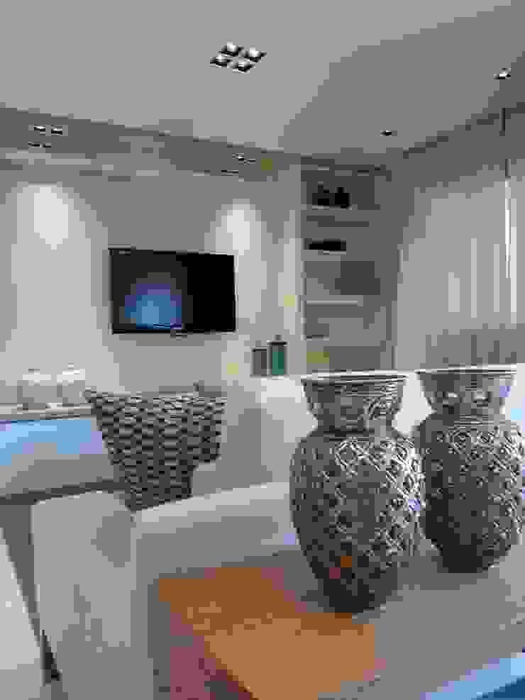 Living por Lucio Nocito Arquitetura. Salas de estar modernas por Lucio Nocito Arquitetura e Design de Interiores Moderno