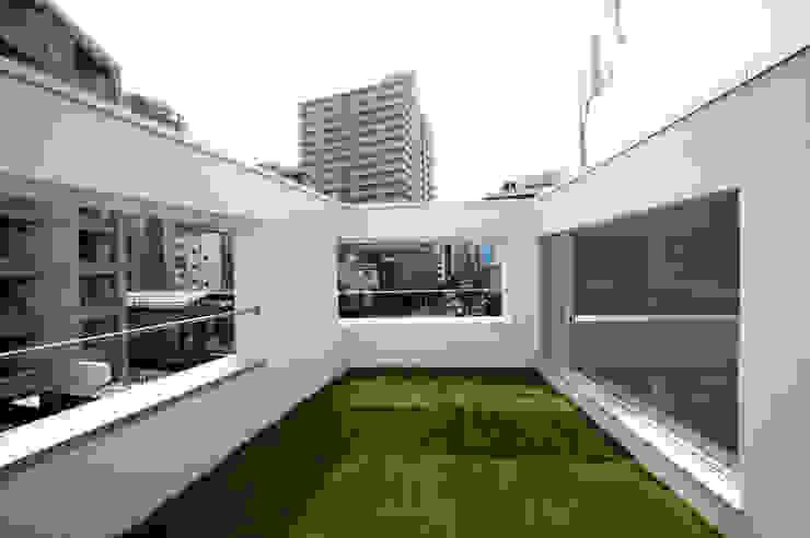 はたのいえ ミニマルな 庭 の 山本想太郎設計アトリエ ミニマル
