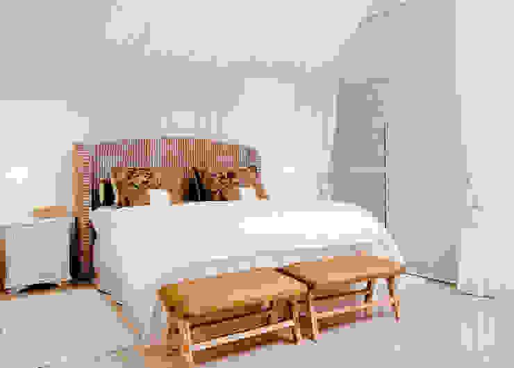 Cuartos de estilo tropical de Karla Silva Designer de Interiores Tropical