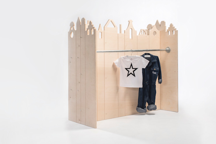 Kamer13a Nursery/kid's roomStorage Wood Wood effect