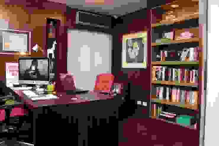 Phòng học/văn phòng phong cách hiện đại bởi Fernanda Moreira - DESIGN DE INTERIORES Hiện đại