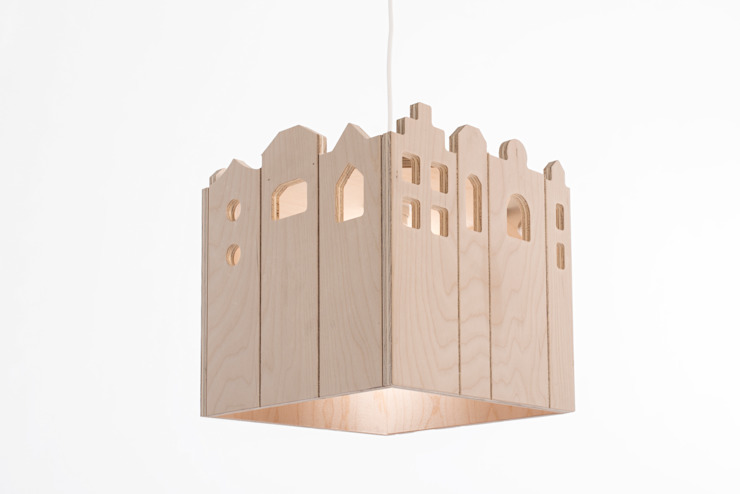 Kamer13a 嬰兒/兒童房照明 木頭