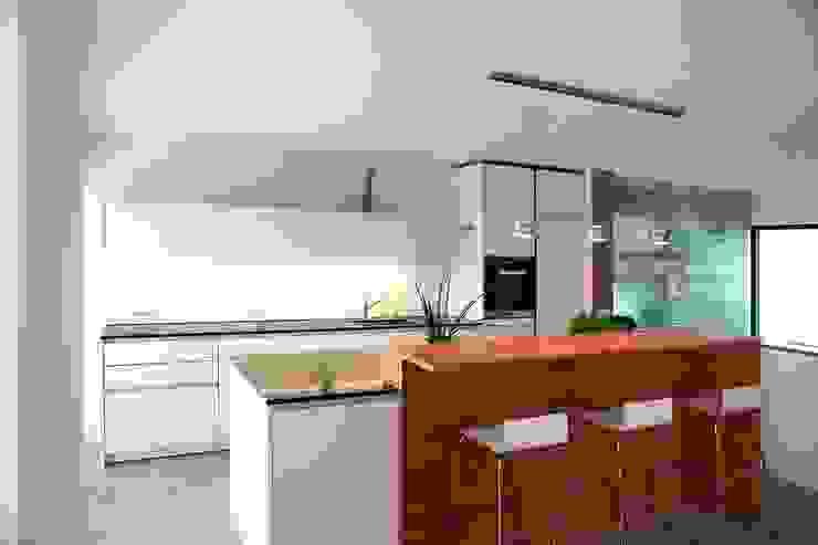 Eigenheim in Lerchenfeld Herzog-Architektur Moderne Küchen