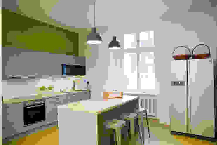 Sabine Oster Architektur & Innenarchitektur (Sabine Oster UG) Cocinas de estilo moderno