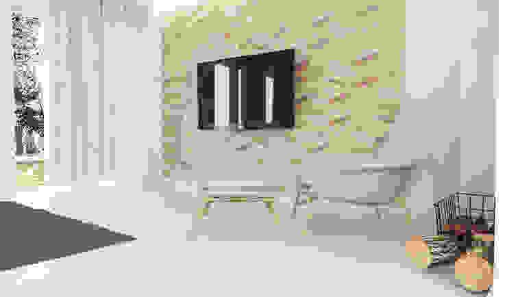 Salon z kuchnią Skandynawski salon od FOORMA Pracownia Architektury Wnętrz Skandynawski