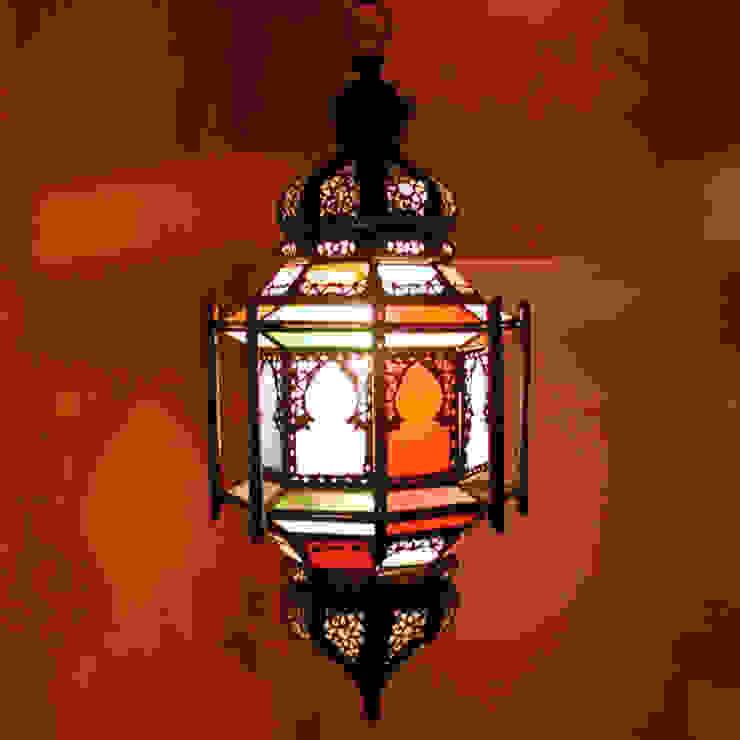 Orientaalse hanglamp 'Walia' van Orientflair Mediterraan