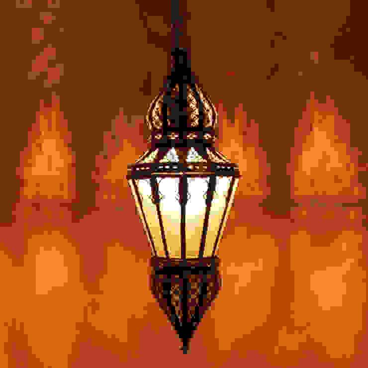 Orientaalse hanglamp 'Nur' van Orientflair Mediterraan