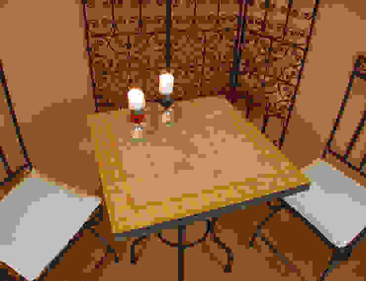 Marokkaanse mozaïek tafels van Orientflair Mediterraan