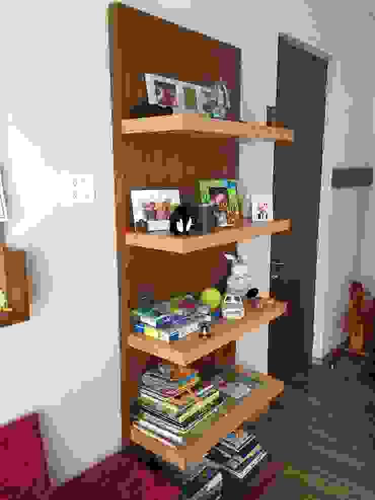 Librero Dormitorios infantiles clásicos de Teorema Arquitectura Clásico Madera Acabado en madera