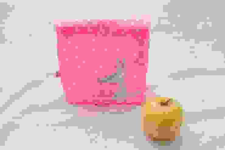 Lunch bag rose fluo PIOLOU Chambre d'enfantsAccessoires & décorations Synthétique Rose