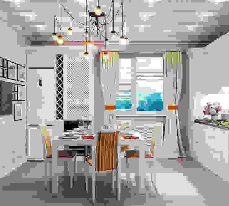 Свежий интерьер кухни в традиционном стиле Кухня в классическом стиле от Студия дизайна Interior Design IDEAS Классический
