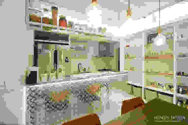 Modern kitchen by 홍예디자인 Modern