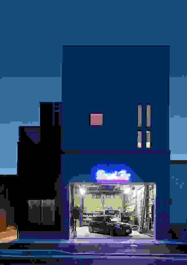 G邸 一級建築士事務所 馬場建築設計事務所 モダンな 家 鉄/鋼 黒色