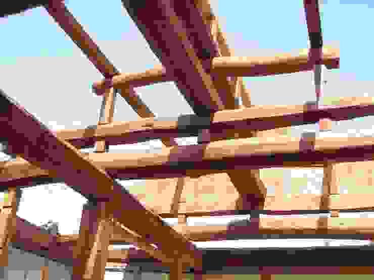 昭和25年当時のままの小屋組み の 一級建築士事務所 馬場建築設計事務所