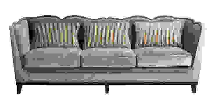 Диван Fabrice Velvet Sofa S001 от LeHome Interiors Классический Дерево Эффект древесины