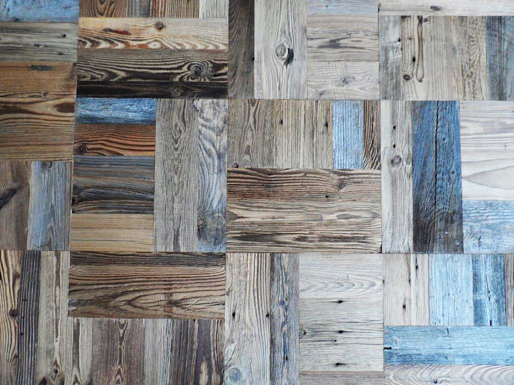 Rustic style walls & floors by ANTICO TRENTINO S.R.L. Rustic