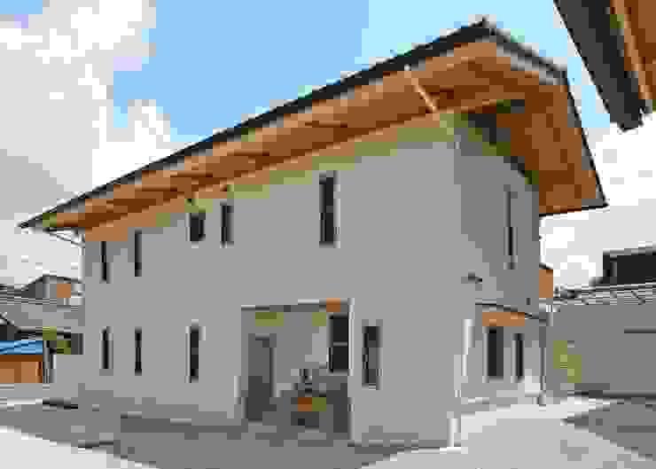 窯元の家N邸、3世代とネコの家族のために新しい空間へ!! モダンな 家 の アンドウ設計事務所 モダン 無垢材 多色