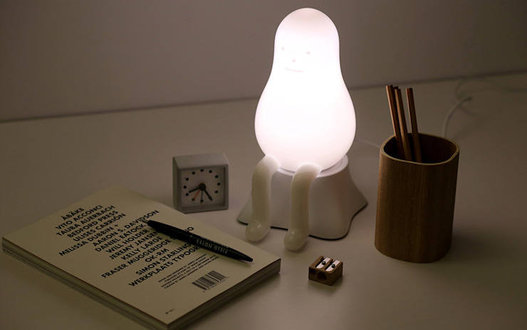 THE LAMP 01 Sticky Monster Lab 아이 방조명 유리 화이트