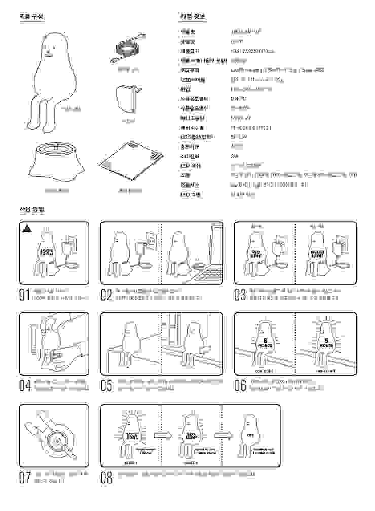 THE LAMP 01: Sticky Monster Lab의 미니멀리스트 ,미니멀 유리